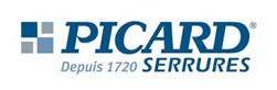 Logo marque serrure Picard